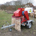 Branch loggers with petrol engine