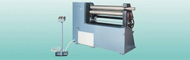 Sheet roll bending machines