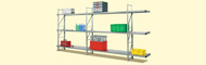 Metal rack systems